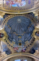 Vienna, Jesuitenkirche trompe l\'oeil ceiling