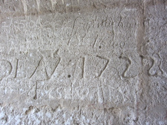Eye on Design | Saint-Émilion | Graffiti, circa 18th century