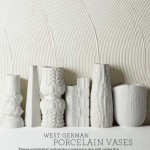 Eye on Design | Mid-century German porcelain | White on White