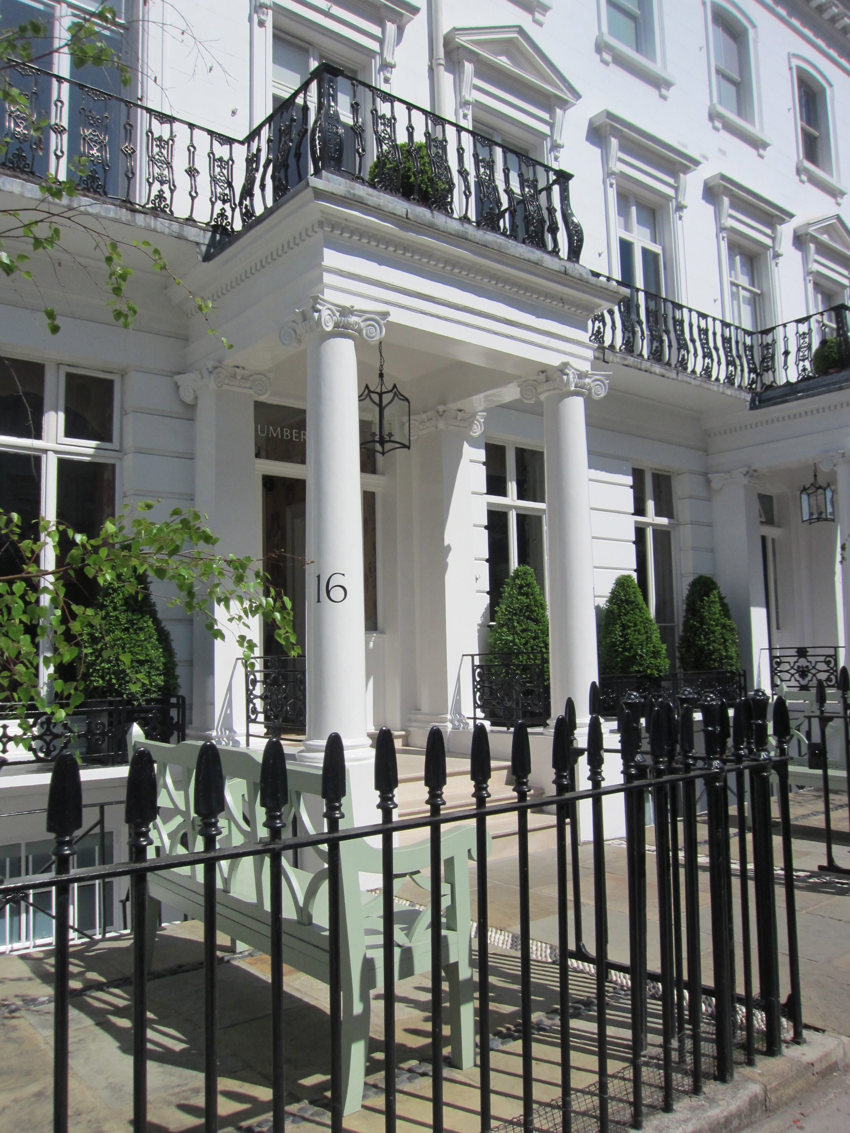 Number 16, London