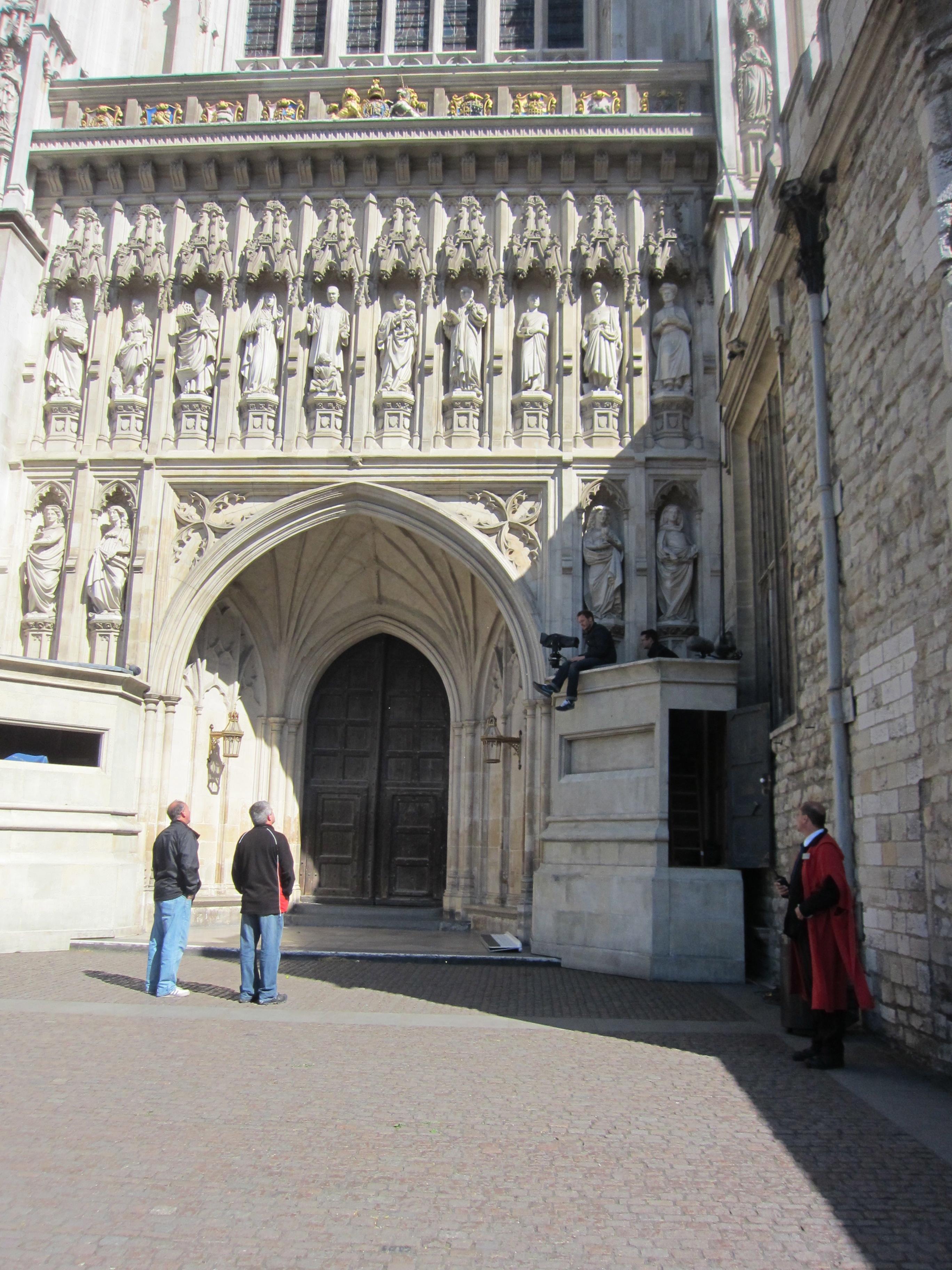 Westminster Abbey, Royal wedding prep
