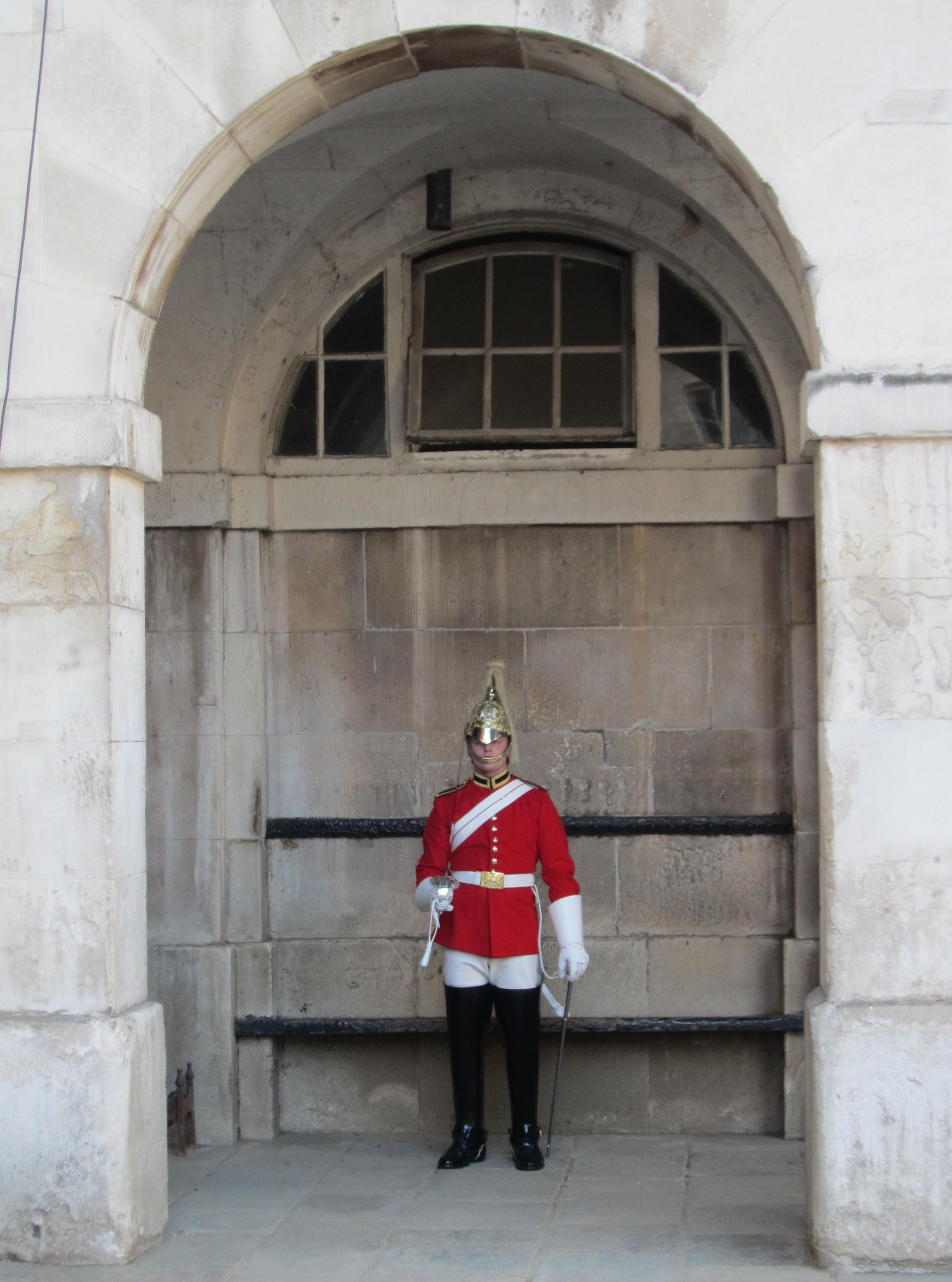 Horse guards, London Royal wedding