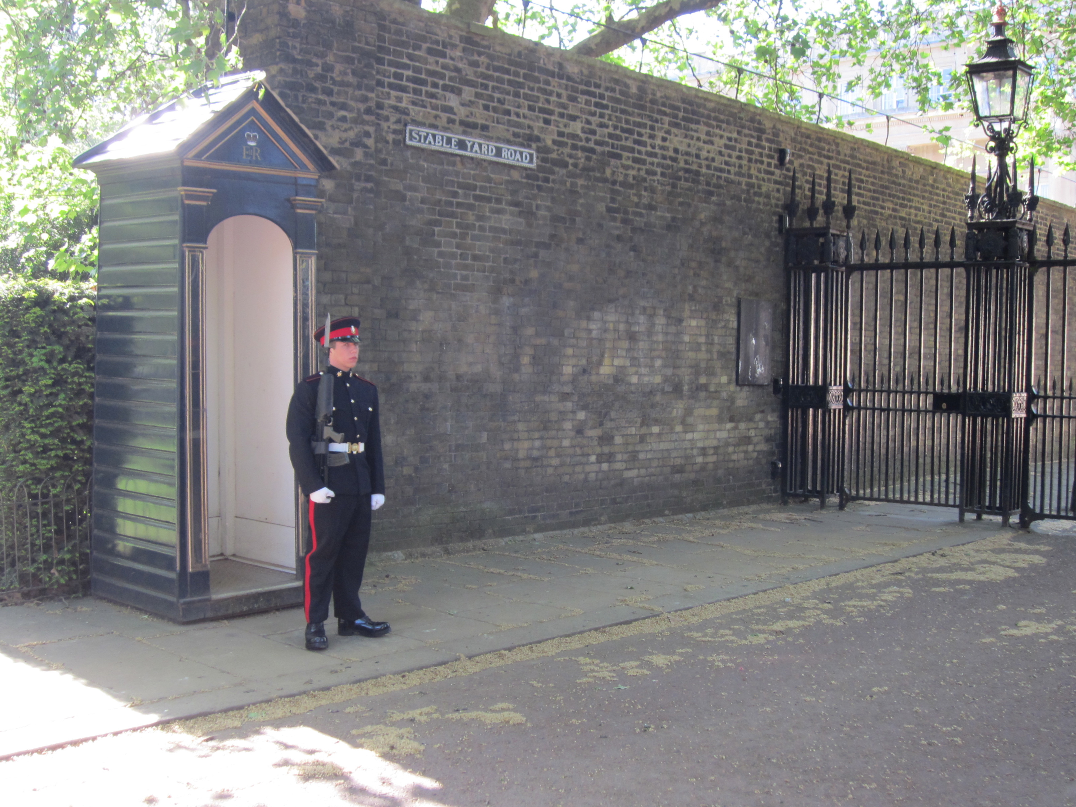 Stable walk guard, London