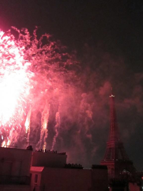 Paris | Bastille Day | Fête de feu d'artifice