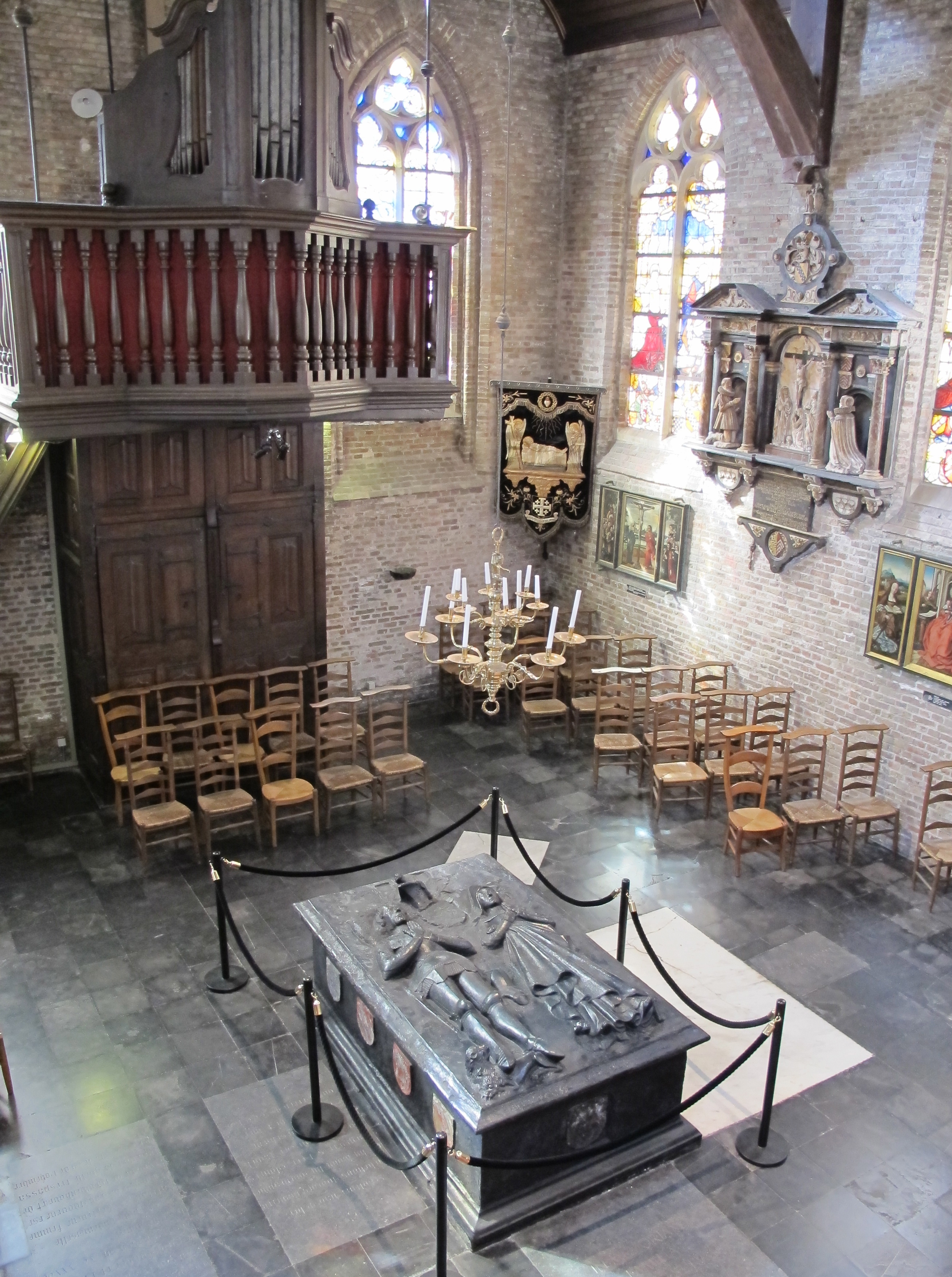 Jerusalem Church Bruges Belgium Just One Suitcase