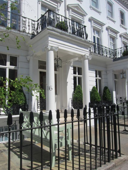 Cool hotels london number sixteen just one suitcase - Number 16 hotel london ...
