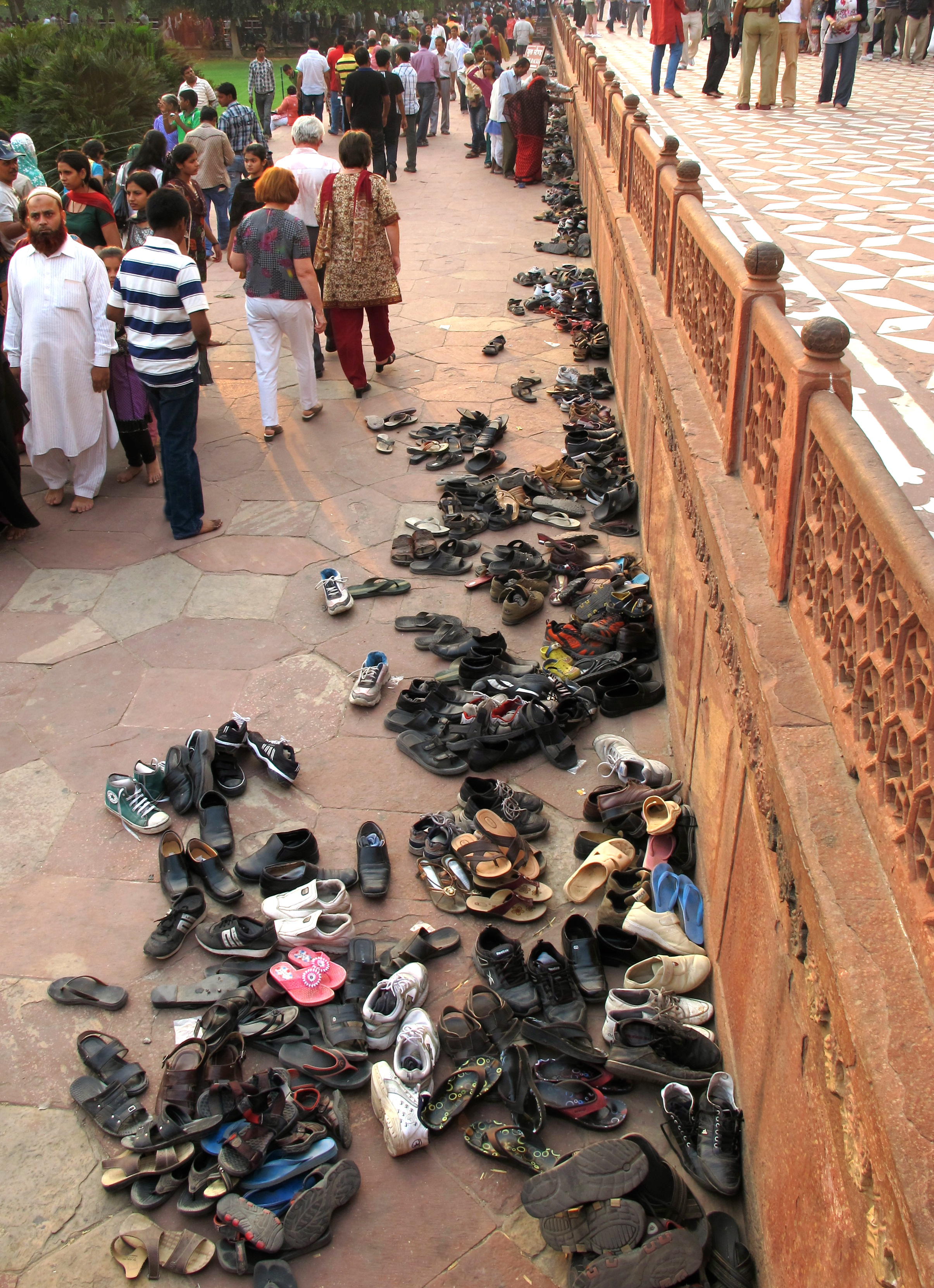 Shoes - Taj Mahal - Agra - India