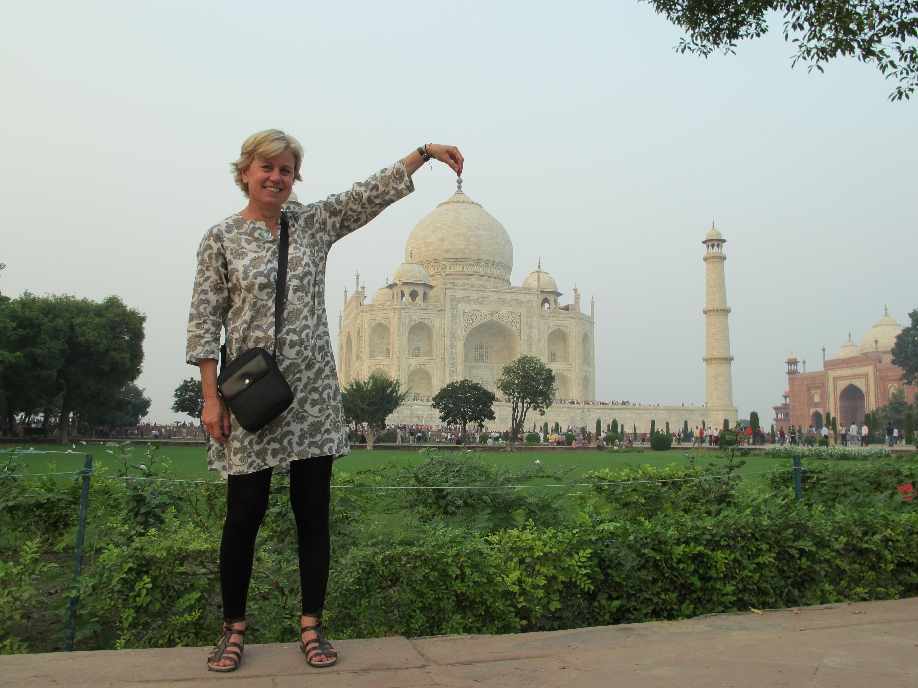 Me - Taj Mahal - Agra - India