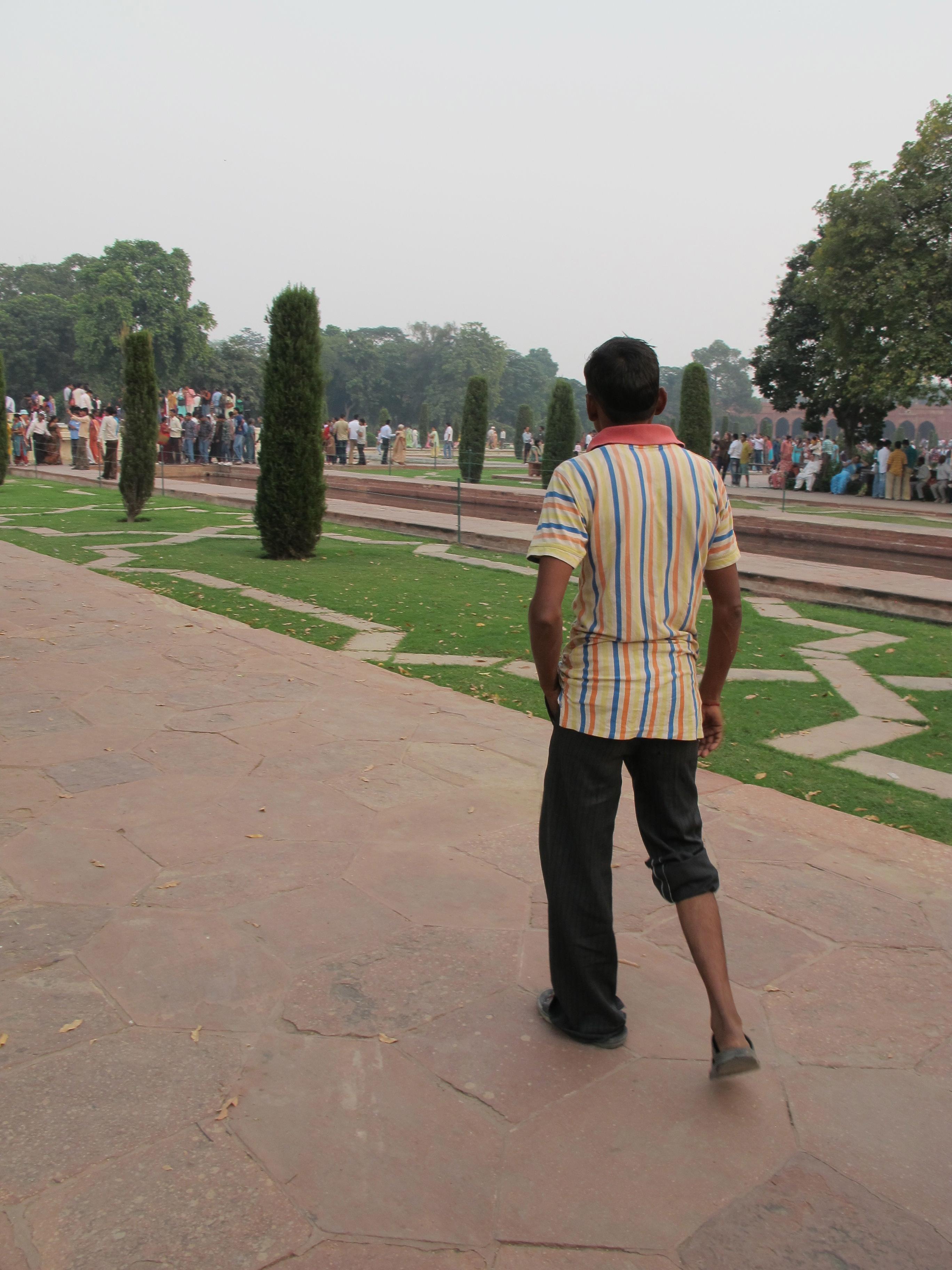 Guide - Taj Mahal - Agra - India