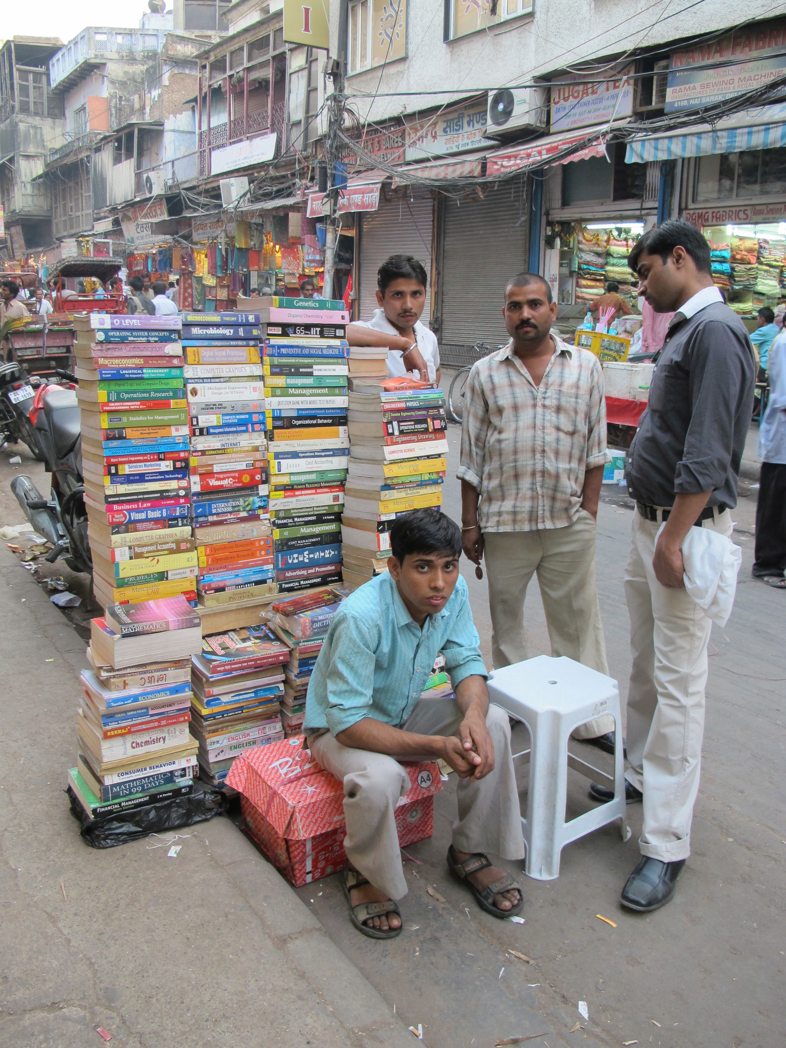 Old Delhi bazaar - India