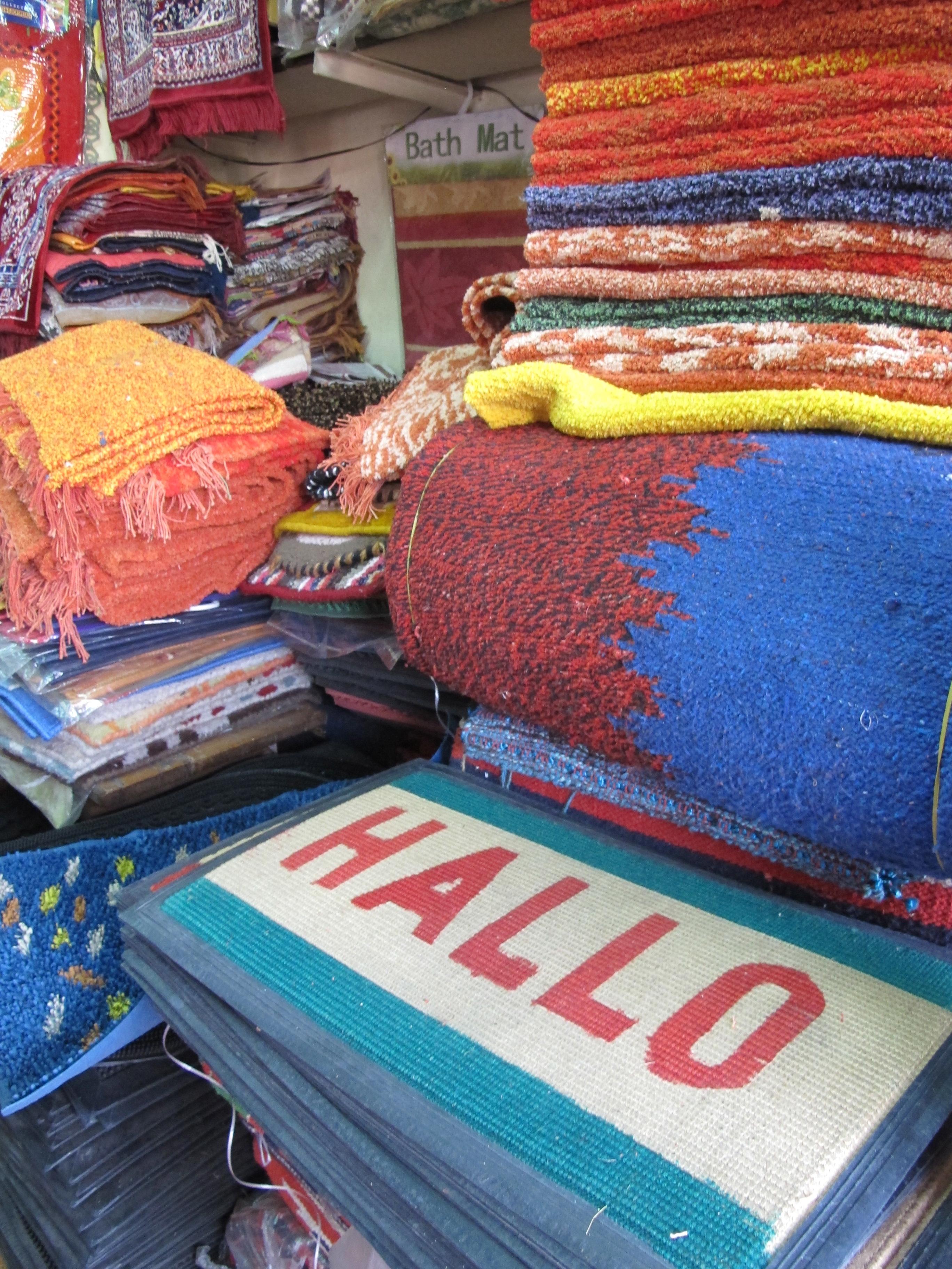Rugs - Jaipur bazaar - India
