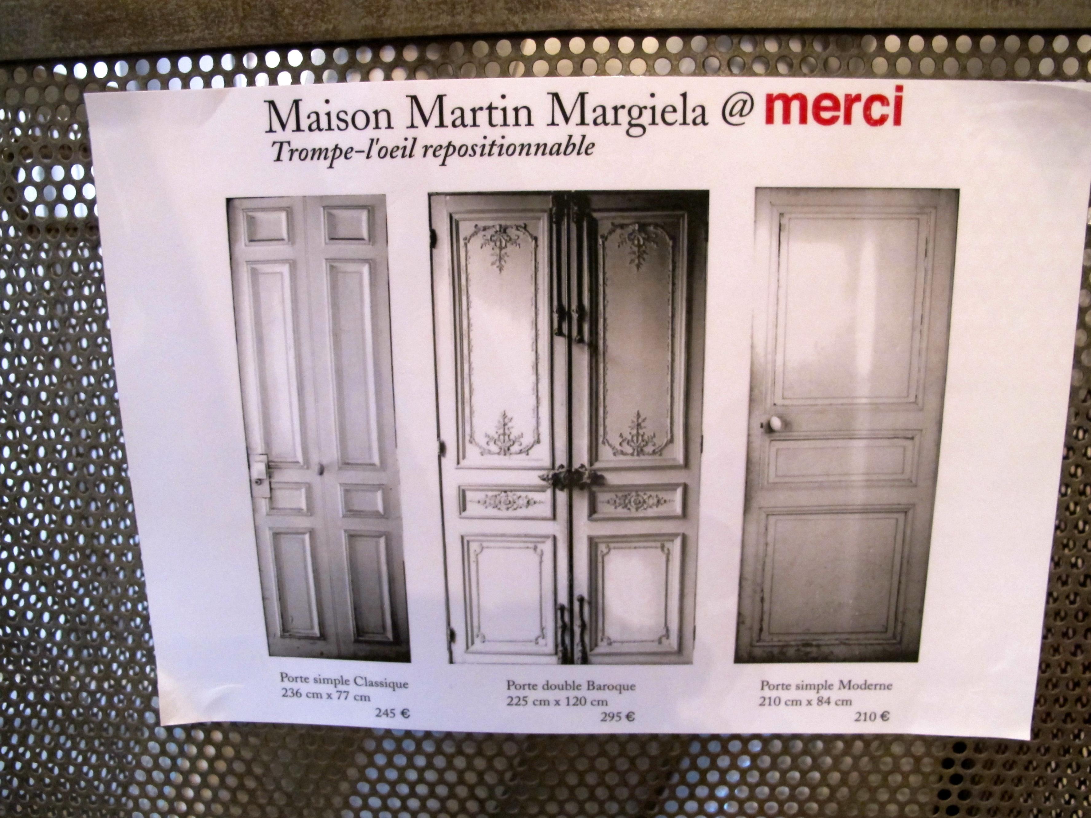 Maison paris martin margiela exclusive photo