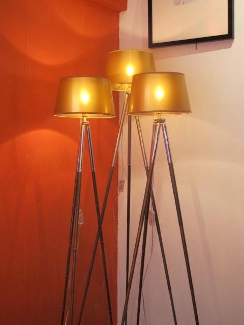 Eye on Design | Paris | Tripod floor lamp