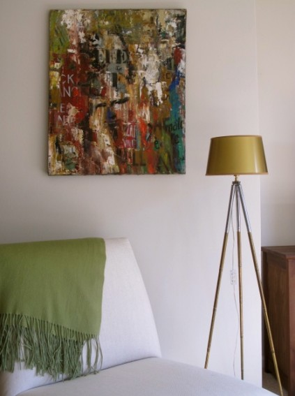 Aline Bachelier floor lamp in my apt