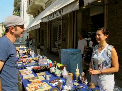 Chiavari flea market_The Brian Boitano Project_Favale_ Italy