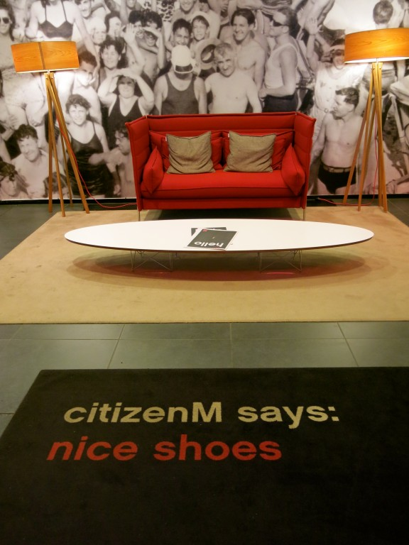 Glasgow | Citizen M Hotel