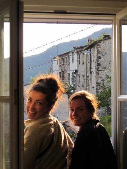 Aubrey and Krista Kolegraff_The Brian Boitano Project_HGTV_Favale di Malvaro_Italy