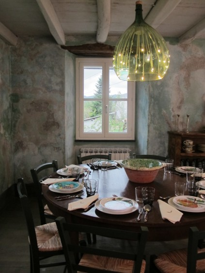 Dining room_The Brian Boitano Project_HGTV_Favale_ Italy