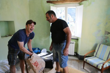 Brian and Enzo_The Brian Boitano Project_HGTV_Favale_Italy