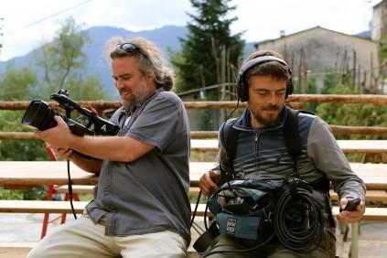 Chris and Alessandro_The Brian Boitano Project_HGTV_Favale di Malvaro_Italy