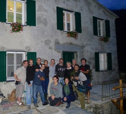 group photo__The Brian Boitano Project_HGTV_Favale di Malvaro_Italy