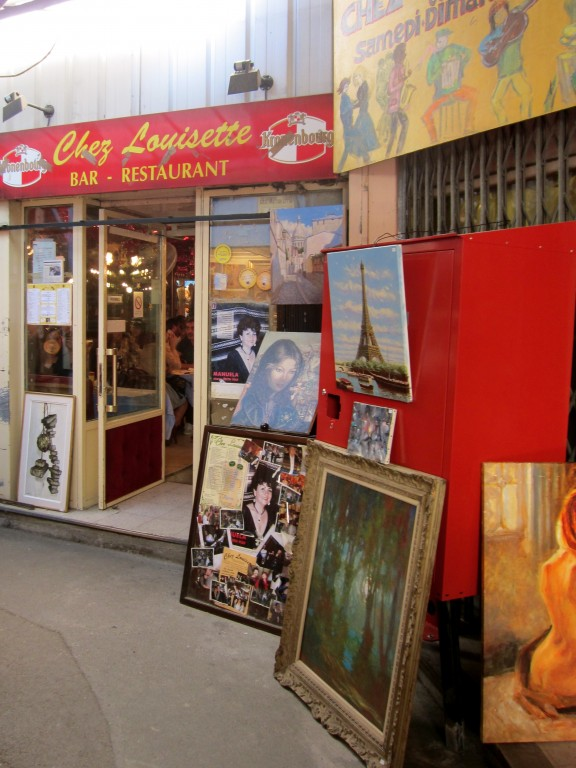 EXCEPTIONAL EATERIES   Paris Flea Market   Chez Louisette