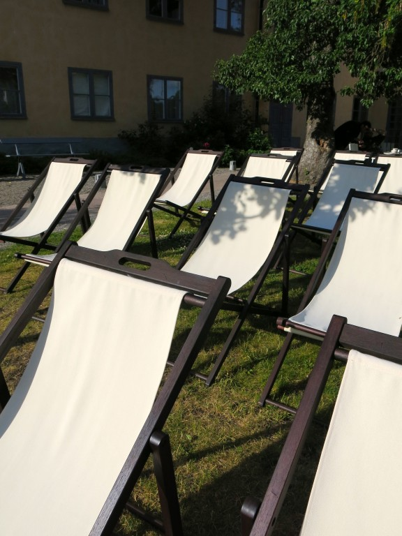 Style Moment | Lounge chairs at the Hotel Skeppsholmen