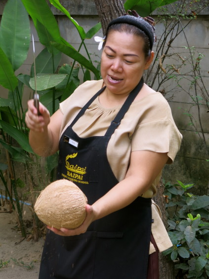 coconut_baipai cooking school_bangkok_thailand