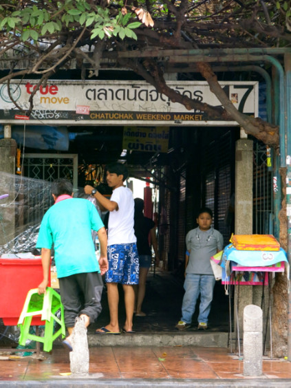 Market entrance_Chatuchak Weekend Market_Bangkok_Thailand