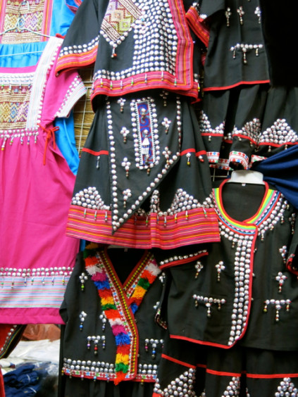 hill tribe clothing_Chatuchak Weekend Market_Bangkok_Thailand