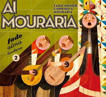 """Levoir / Silva Designers_fado CD_Alma Lusitana"""" collection."""