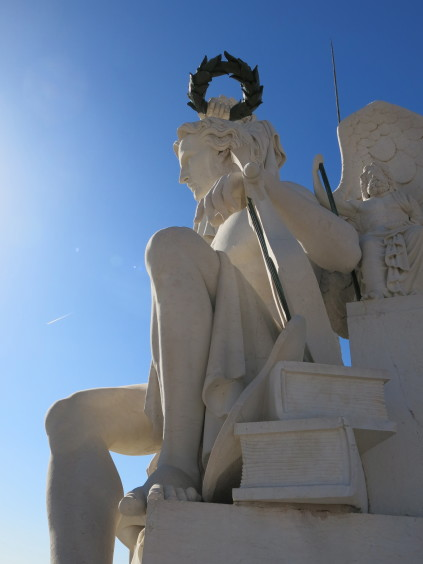 Genius statue_Lisbon_Portugal