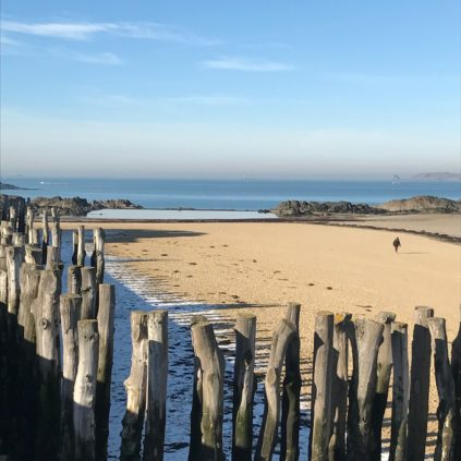 Plage de L'eventail_saint-malo_brittany_france