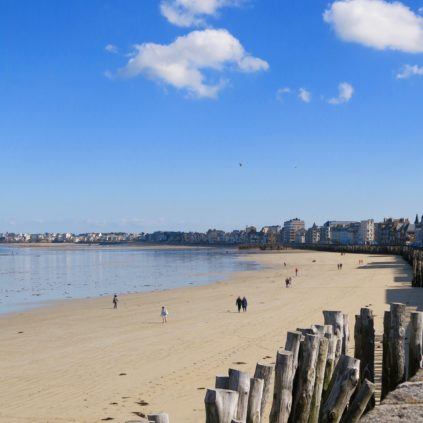 Plage de LPlage de L'EventaiL_saint-malo_france